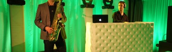 Optreden Live House Collective DJ met Saxofonist